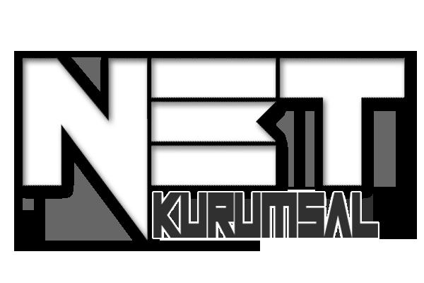 Net Kurumsal kabartmalı logo